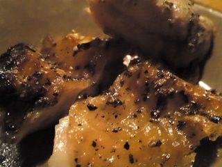 薩摩地鶏の骨付鶏黒胡椒