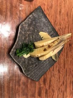 新筍と菜の花のサラダ