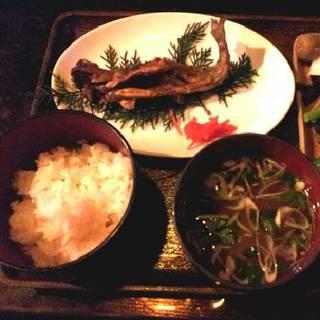 岩魚味噌焼き定食
