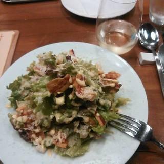カリッとパンチェッタのシーザーサラダ