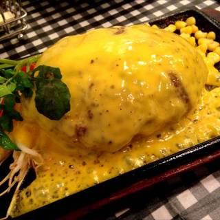 濃厚チーズフォンデュハンバーグ