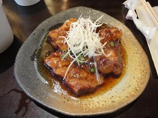 黒酢とろソーキ