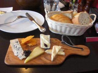 チーズ盛り合わせランチ