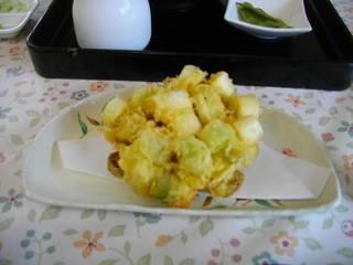 ねぎの天ぷら