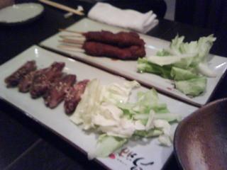 味噌串かつ