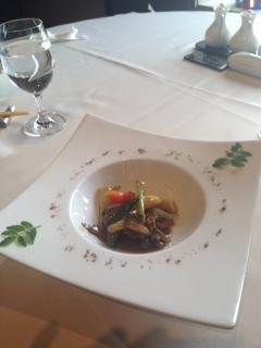 牛肉と春野菜の山椒炒め