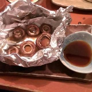 神戸マッシュルームのホイル焼き