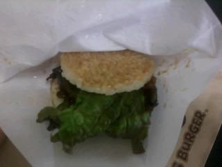 モスライスバーガー カルビ焼肉