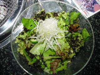 スエヒロ館チョレギサラダ