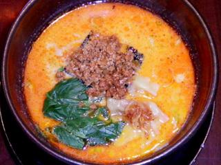 特製坦々麺