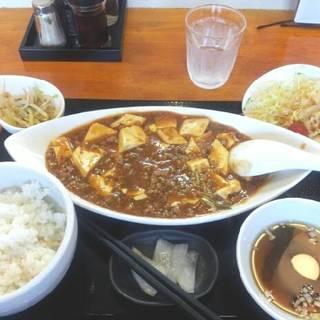麻婆豆腐 定食セット