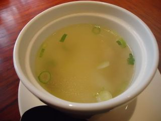 大根と鳥肉のスープ
