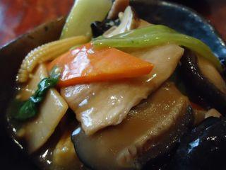 豆腐のオイスターソース煮込み