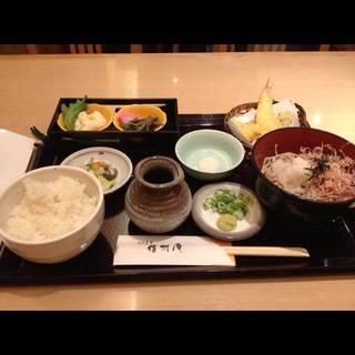 天ぷら蕎麦セット