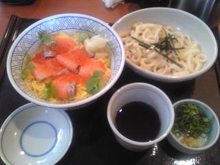 海鮮親子丼ランチ