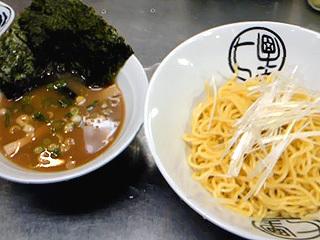 動物系つけ麺(中華スープゆず味)
