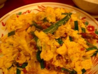 叉焼と玉子炒め