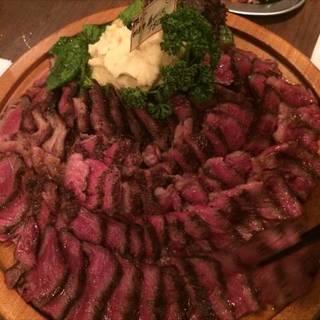 リブロースの熟成肉