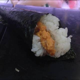 うに手巻き寿司