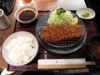 沖田黒豚ロースカツ定食