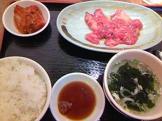 ランチカルビ定食