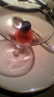 ブラッドオレンジのシャーベット