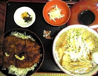 中華そばとミニ丼セットプランA