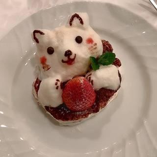 本日のスペシャルデザート