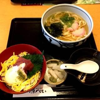 選べる 丼・麺セット