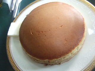 チーズホットケーキ