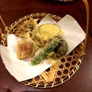 季節の野菜天麩羅