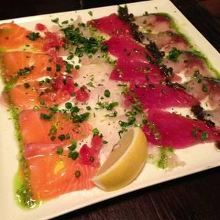 鮮魚の3点カルパッチョ