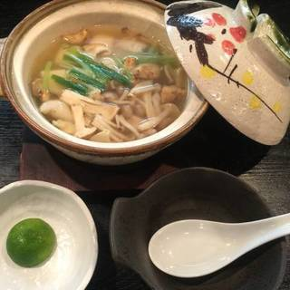 秋の季節料理 松茸鍋