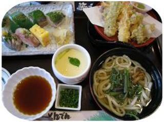 鯵の鯵彩定食