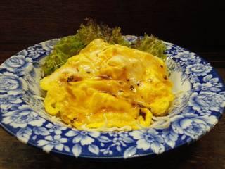 卵焼きサラダ