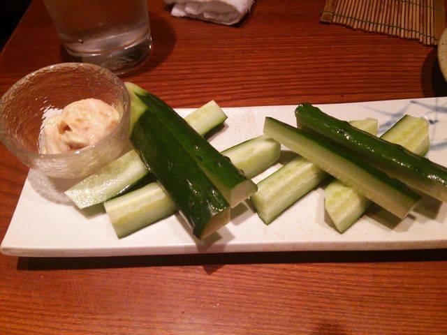 味噌マヨきゅうり