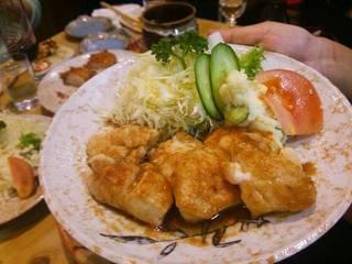 鳥生姜焼き