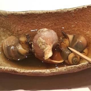 まつぶ貝の煮浸し
