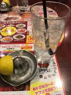 生搾りレモンサワー