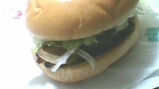 てりやきチキンバーガー