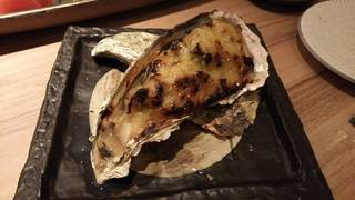 牡蠣のふき味噌焼き