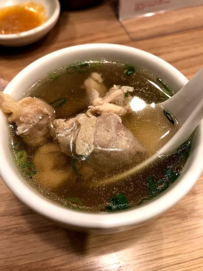 鶏と生姜のスープ