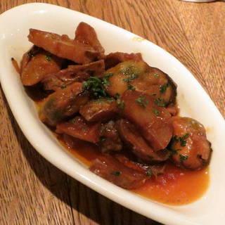 ムール貝とジャガイモの煮込み ガリシア風