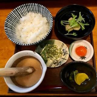 土鍋ご飯の大和芋のとろろご飯