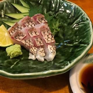 石川県漁連直送 鯛の刺身