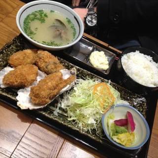 日本一のカキフライ定食