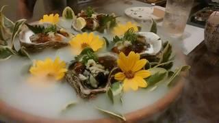 牡蠣のジュレかけ
