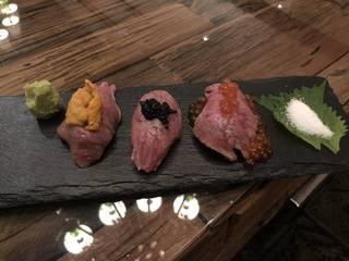 牛寿司のおまかせ握り