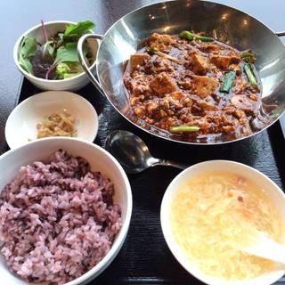 重慶式麻婆豆腐セット
