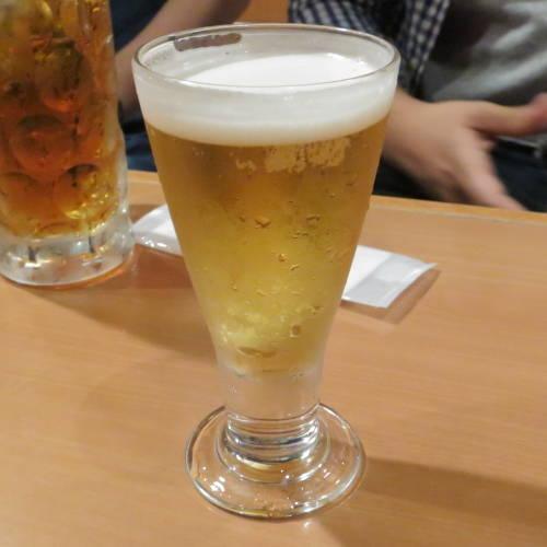 ミニグラスビール